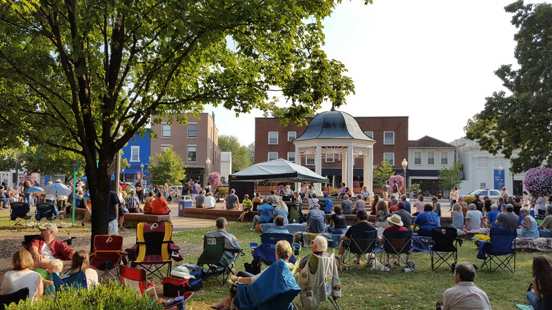 Village Commons at the Gazebo concert